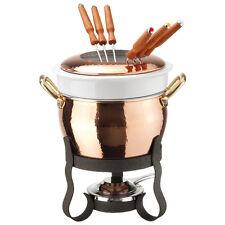 Paderno Set fonduta Rame Pentolame Fondue set Copper Cookware Serie 15300-15400