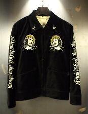 Mens Jacket Japanese Pattern Embroidered Sukajan Pray To God Jesus Virgin Mary