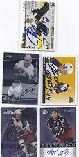 Espen Knutsen Signed / Autographed Hockey Card Columbus Blue Jackets 2003 ITG