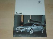35580) VW Passat Polen Prospekt 2006