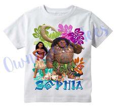 Moana Maui Custom T-shirt PERSONALIZE Birthday ADD NAME,
