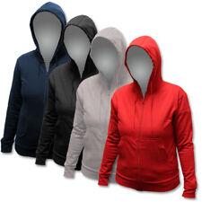 US Basic Damen Hoodie Kapuzenjacke Kapuzensweater Jacke Sweatjacke gr. S-XL