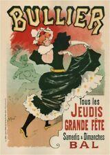 Vintage Advertisment Poster Bullier WIA125 Art Print A4 A3 A2 A1