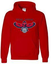 Trae Young Atlanta Hawks LOGO HOODED SWEATSHIRT