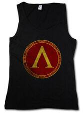 SPARTA DAMEN TANK TOP Polis Spartaner Spartiaten Logo 300 Leonidas Symbol Sign