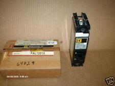 Square D Breaker FAL12015 15 Amps 120V 125DC 1 Pole NIB