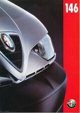 Alfa Romeo - 146 -  Prospekt - Deutsch - August 1995