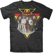 AEROSMITH - Band logo - T SHIRT S-M-L-XL-2XL Brand New - Official T Shirt