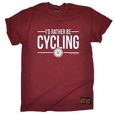 ID más bien ser Ciclismo Camiseta Jersey Ciclista Bicicleta Bici Divertido Regalo De Cumpleaños