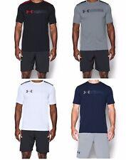 128e3c5c6 New Men's Under Armour UA Raid Turbo Graphic T-Shirt - 1286059 HeatGear Tee