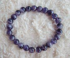 Ladies  Men's, Genuine Amethyst Gemstone Bracelet.