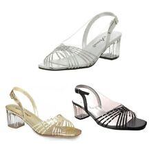 Annie Shoes Bobby II Strappy Slingback Sandals w/ Rhinestone Detail Womens