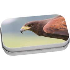 'Hawk Head' Metal Hinged Tin / Storage Box (TT047980)