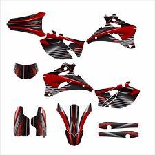 2007 2008 2009 2010 2011 2012 2013 2014 WR 250F Graphics sticker kit #3333-Red