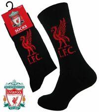 4 Garçons Liverpool crest badge club de football équipe de foot chaussettes UK 4-6