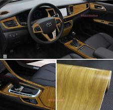 Hot Matte Wood Grain Textured Vinyl Wrap Sticker Car Home Decors Decal #449 - AB