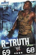 WWE Slam Attax Evolution - R-Truth Smackdown Card