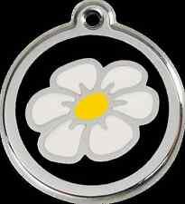 médaille chien ou chat red dingo fleur 3 tailles 11 couleurs
