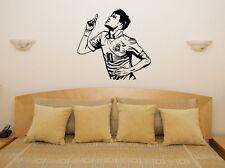 Neymar da silva Barcelone Brésil Football Player Decal Mur Art Autocollant Photo