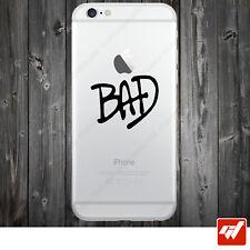 Sticker Autocollant Apple Iphone 4 5 6  Lot de 2X - JACKSON BAD IPH55