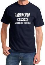 1965 Plymouth Barracuda American Muscle Car Classic Design Tshirt NEW FREE SHIP