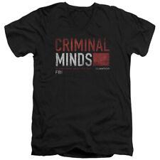 CRIMINAL MINDS TITLE CARD T-Shirt Men's V Neck