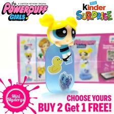 Kinder Powerpuff Girls Figures *CHOOSE YOURS* BUY 2 GET 1 FREE! Kinder Joy Toys