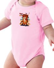 .Infant creeper bodysuit One Piece t-shirt Ready For Fun Kitten Kitty Cat k-552