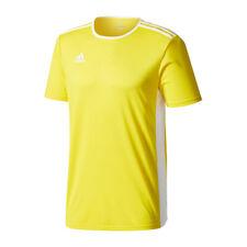 Adidas Entrada 18 Maillot manches courtes jaune blanc