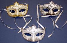 Glitter Masquerade Ball Mask, Unisex Adult Venetian Fancy Dress Party Mask