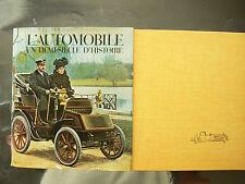 Livre  l'Automobile  un Demi Siècle d'Histoire  1968      de Jean Fondin