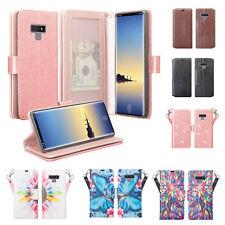 Samsung Galaxy Note 9 Note 8 Cute Wallet Flip Kickstand Phone Case Cover