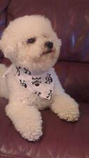 Halloween Blanc Godille & Arbalète conception de chien Bandana Foulard libre p&p