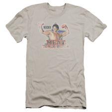 Rocky Meat Tenderizer Mens Premium Slim Fit Shirt