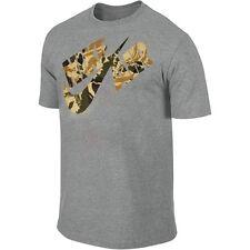 Nike Flight Heritage T-Shirt Grey/Camo Men's Small Medium Large XL 2XL 3XL BNWT!