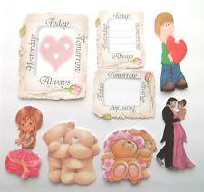 3D U Pick New05 Boy Pilot Girl Love Construction Card Scrapbook Embellishment