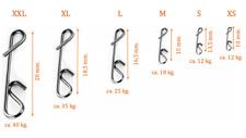 Spro NO-KNOT LINK Gr L 25kg Knotenlos Schnurverbinder für geflochtene Schnur