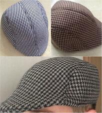 Berretto Piatto UNISEX POLIESTERE Gatsby Cappello da Strillone Golf Driver SMART Tassista Cappello