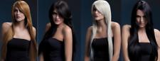 résistant chaleur Perruque LAVABLE styleable FEMMES DÉGUISEMENT Ambre 71cm