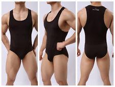 S M L XL Weiche Sport Weste Männerbody Shapewear Herren Body Overall Unterwäsche