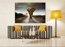 3D Himmel Elefanten Straße 934 Fototapeten Wandbild BildTapete AJSTORE DE Lemon