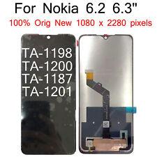 Original For Nokia 6.2 TA-1198 TA-1200 TA-1187 TA-1201 LCD Display Touch Screen