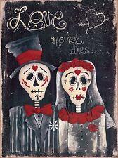 Art Print, Framed or Plaque by Jill Ankrom - Love Never Dies - JIL320