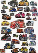 KOOL ART CAR STICKERS -  Choice of variety of models!! stocking filler kids xmas