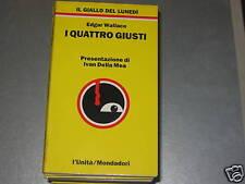 IL GIALLO DEL LUNEDI'  N.2 -I QUATTRO GIUSTI -E.WALLACE