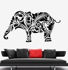 Wall Vinyl Elephant Africa Animal Ornament Mural Vinyl Decal (z3331)