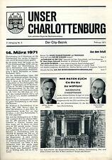 Cdu-HeFT: nuestro Charlottenburg nº 5 (Parlamento de Berlín casa elección 1971)