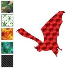 Flying Bat Decal Sticker Choose Pattern + Size #1291