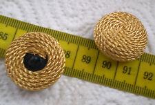 Possament Lurex Manteau Bouton Rotgold Golden Glamour Bouton Button botón GOMB