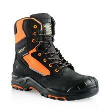 Buckler BUCKZVIZ Safety Work Boots Hi-Vis Fluorescent Orange (Sizes 6 - 13)